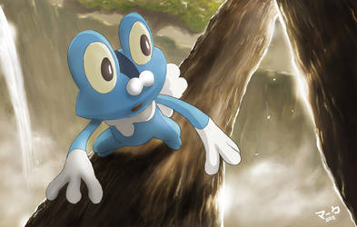 Pokemon: Froakie by mark331
