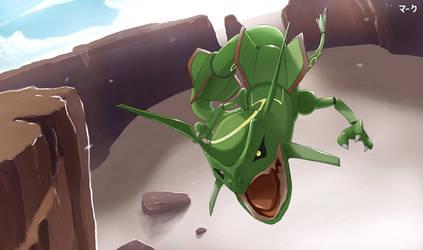 Pokemon: Rayquaza 2 by mark331