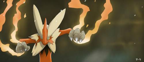 Pokemon: Mega Blaziken by mark331