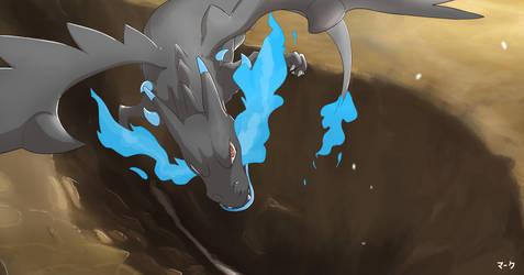 Pokemon: Mega Charizard X by mark331