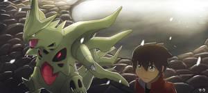 Pokemon: Mega Tyranitar by mark331