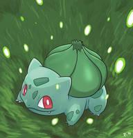 Pokemon: Bulbasaur by mark331