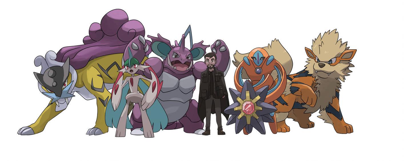 Saud Pokemon Team by mark331