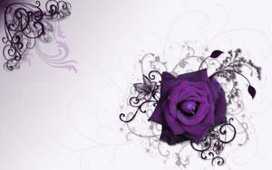 Purple Dreamtime Rose by silverperfume