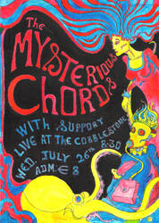 mysterious chords poster by elpajo