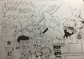 The Smash Hype!!!!! ( Mega Gift ) by Doodlemaster1000