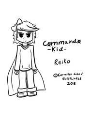 Commando Kid: Reiko Tablet Sketch by TheAliami