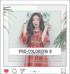 PSD COLORING 3 by XJang