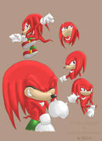 Knuckles by amskitty214