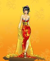 Karen: Geisha by amskitty214