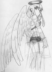 angel of my nightmare by amskitty214