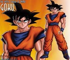 JLAnime 1: Goku by ninjatron