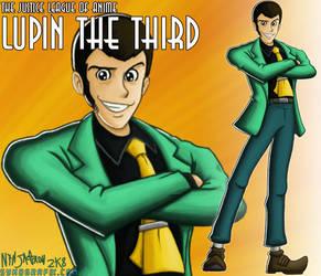 JLAnime 3: Lupin III by ninjatron