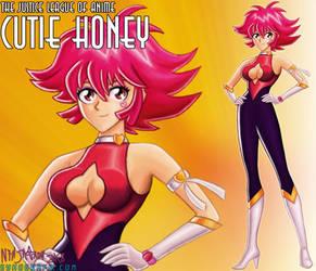JLAnime 4: Cutie Honey by ninjatron