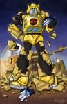 TFcon 2009: Goldbug-Bumblebee by ninjatron