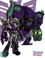 TFA Blitzwing and Lugnut by ninjatron