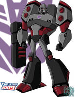 TFAnimated Megatron by ninjatron