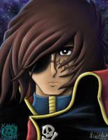Captain Harlock by ninjatron