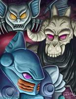 Decepticon Pretenders by ninjatron