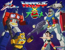 Transformers X Anime by ninjatron