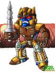 SD Dinobot by ninjatron