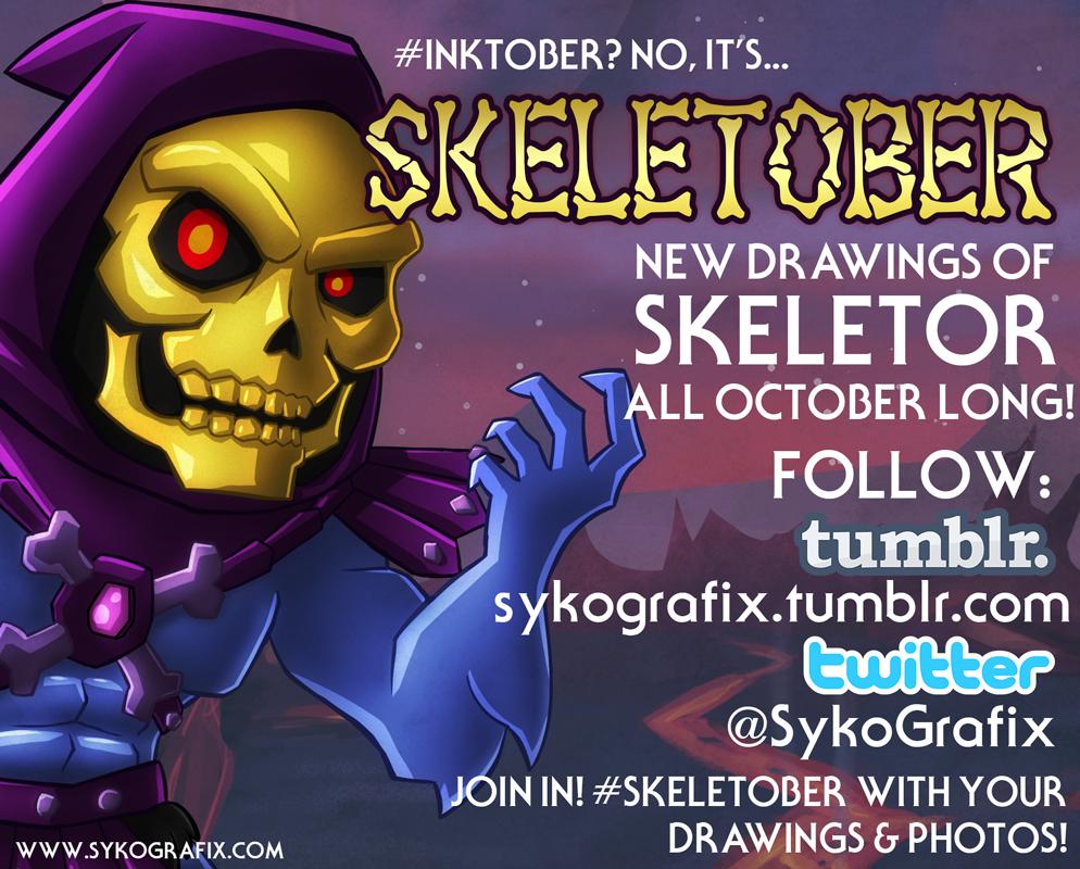 Skeletober by ninjatron