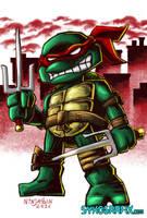 WILDCARD - TMNT Raphael by ninjatron
