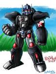 Optimus Primal by ninjatron
