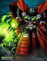 Spawntimus Prime by ninjatron