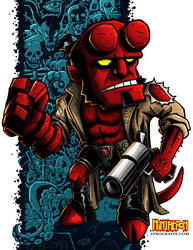 SD Hellboy by ninjatron