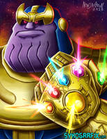 Thanos by ninjatron