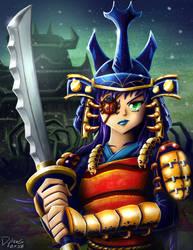 Samurai Bug Girl by ninjatron