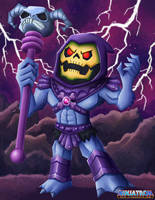 Skeletor - Skeletober 2018 by ninjatron