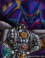 Silverbolt and Jetstorm by ninjatron