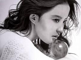 Crystal Liu Yifei by KLSADAKO