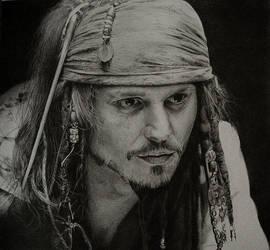 Jack Sparrow by KLSADAKO