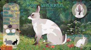 Von Warren | Turtlenose by silk-fur