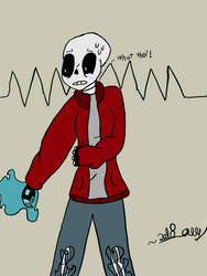 Me as a skeleton  by knowinghasha