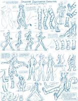 Tkturials - Digitigrade Legs Guide by Twokinds