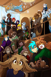 Twokinds 13th Anniversary by Twokinds