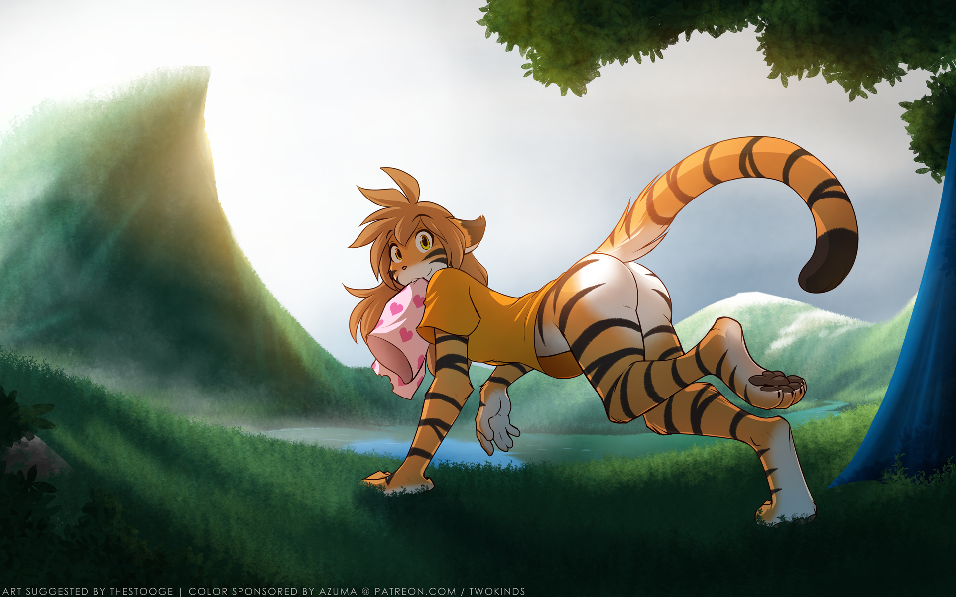 Pants-Free Policy by Twokinds