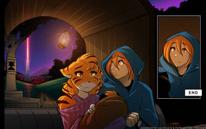 Daniels and Therie - Escape by Twokinds