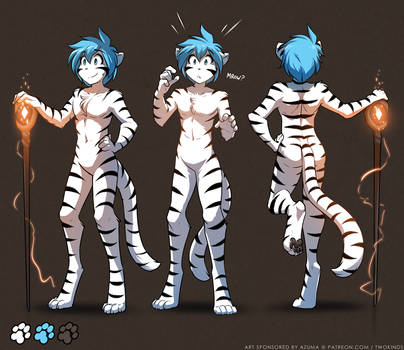 Tiger Trace Character Sheet by Twokinds