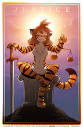 Justice Card by Twokinds
