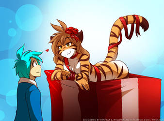 Giftbox Flora by Twokinds