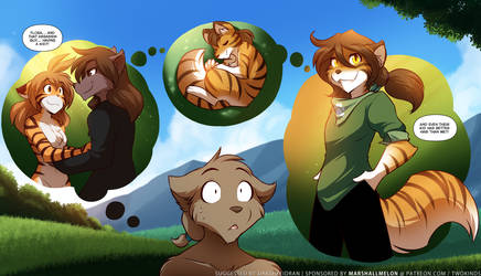Flora and Natani's Child by Twokinds