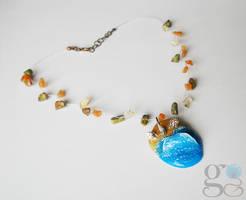 Beach necklace by ALINAFMdotRO