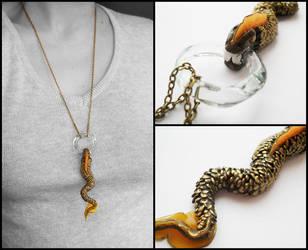 Dragon Snake pendant by ALINAFMdotRO