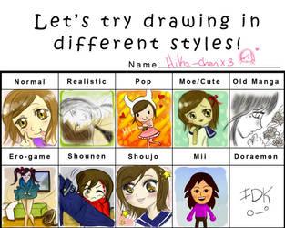 Style Meme by Hika-chanx3