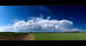 Kecel skies VII by NorbertKocsis